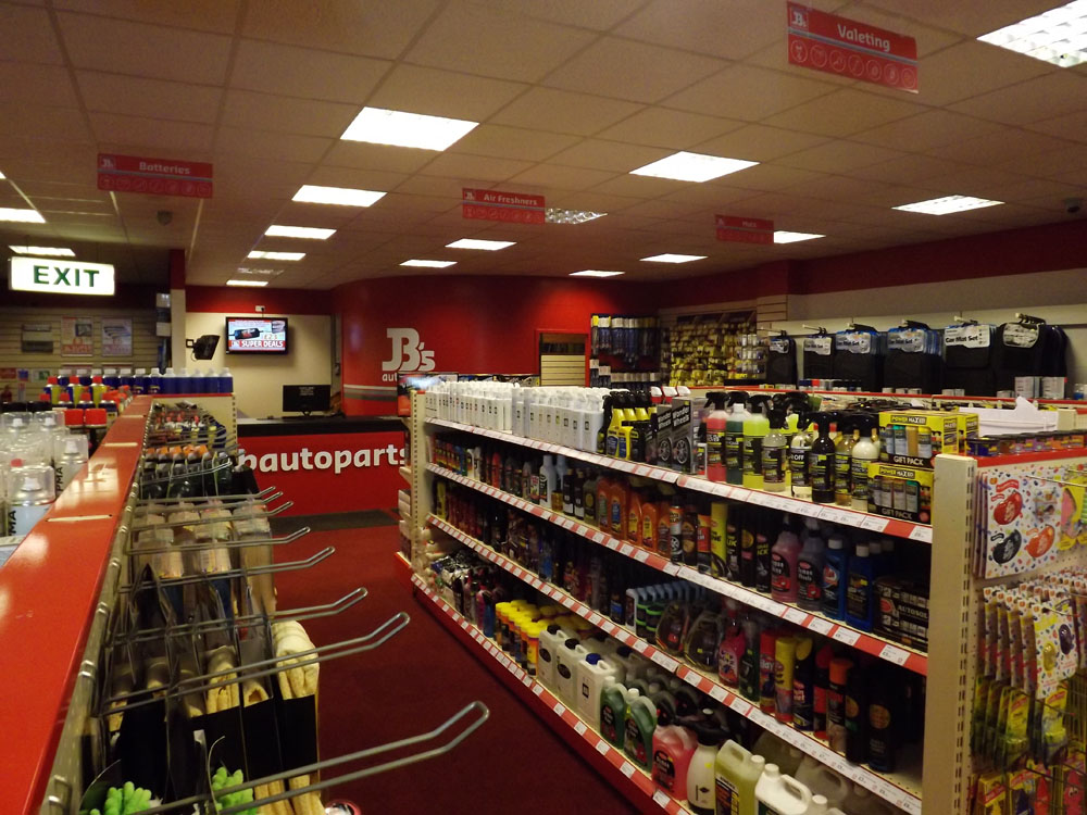 JB Autostore autoparts and accessories store Shetland